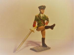 North Korean Army Female