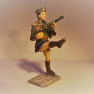 North Korean Army Female Soldier