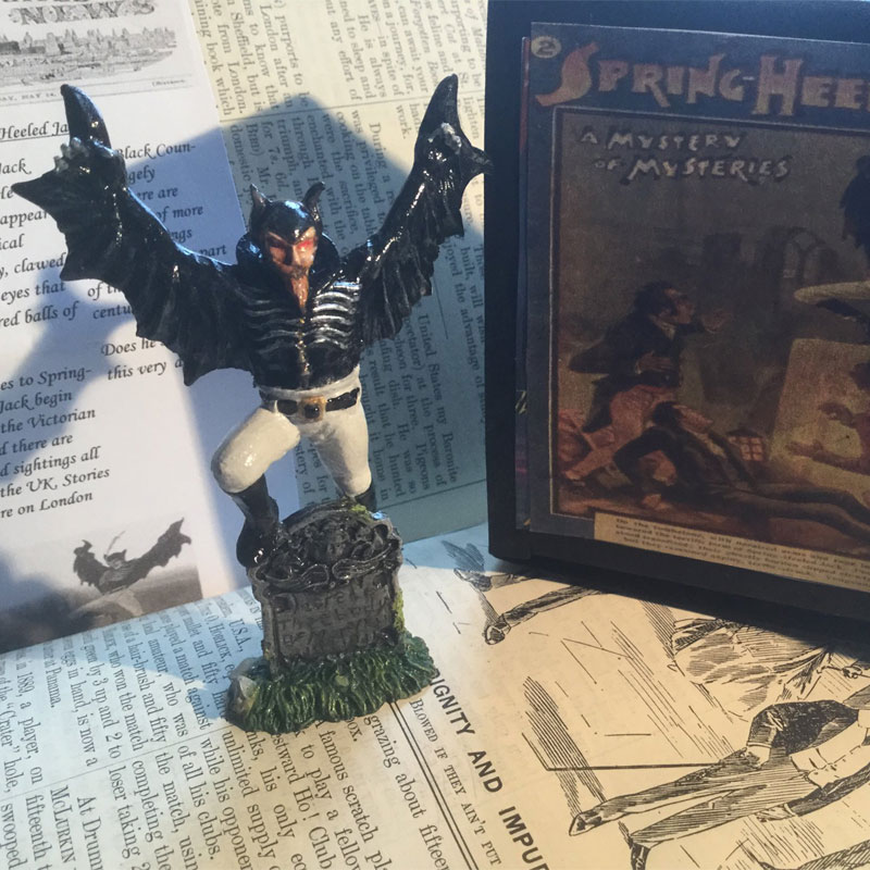 London Gothic Collectables handmade figures made in the UK